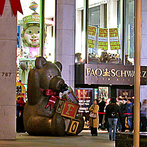 Fao schwarz new york city toy store closing photos flagship fao schwarz toy store closing december 12 2003 767 fifth avenue at 58th street new york ny 10153 sciox Image collections